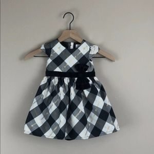 Carter's Baby Girl Plaid Dress (12 Months)